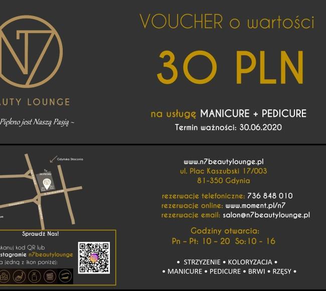 Promocje - VOUCHER - Manicure + Pedicure